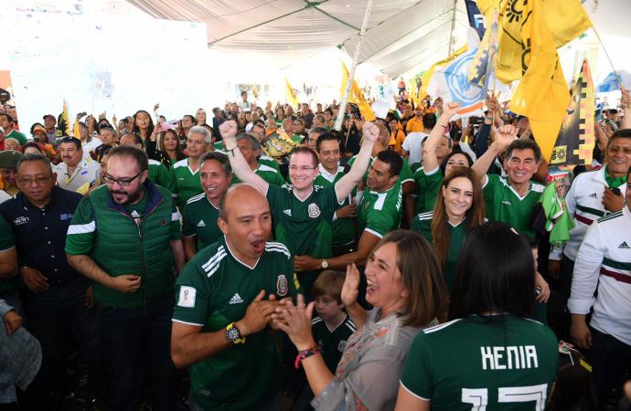 Celebra Ricardo Anaya triunfo de la Selección Mexicana