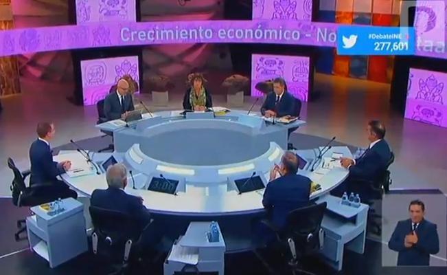 """Los """"debates"""" y la Simulación de la Democracia"""