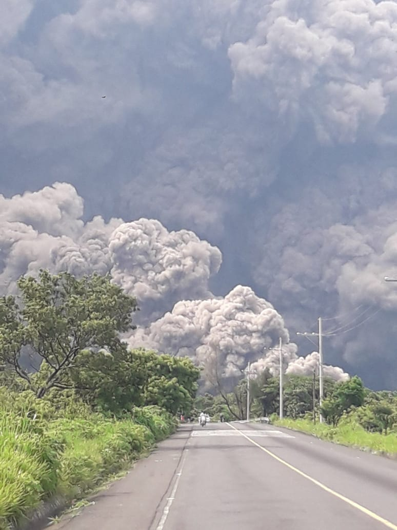 Cenizas de Volcán de Fuego podrían llegar a la frontera sur: IPN