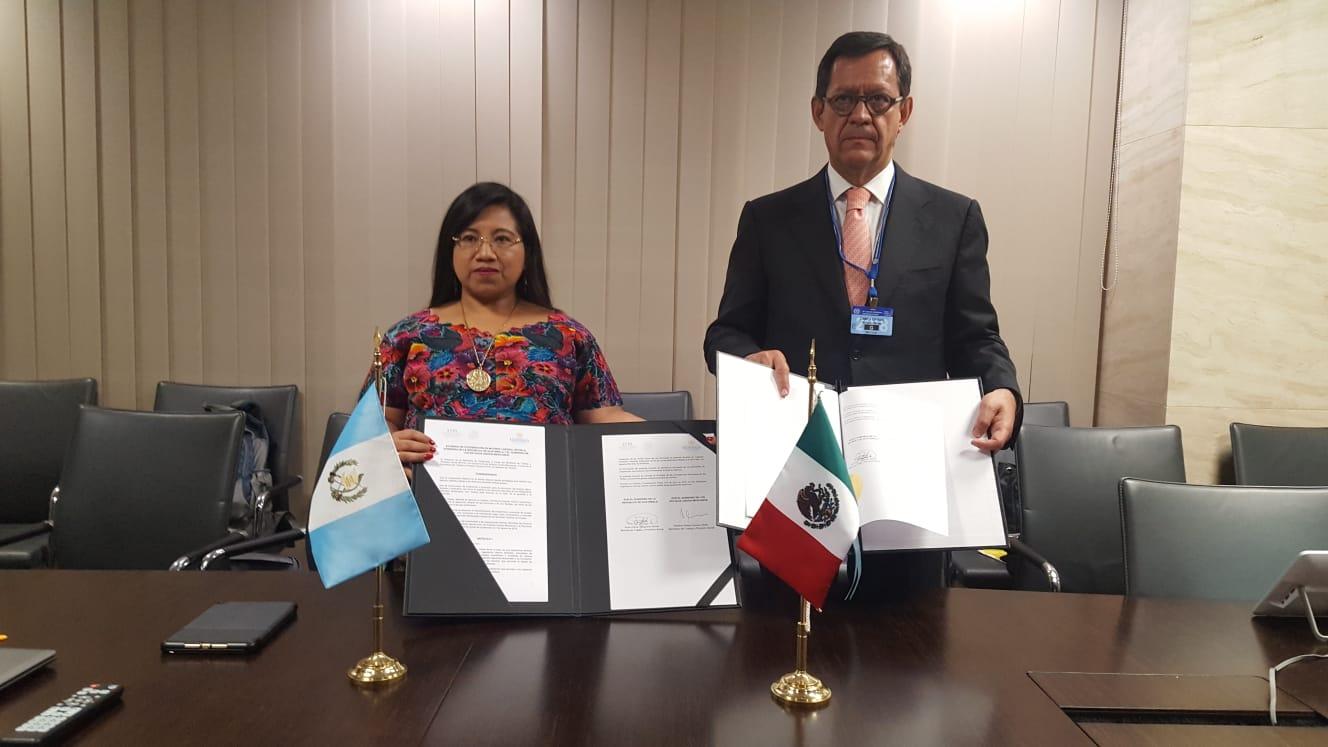 Suscriben México, Argentina, Guatemala y Paraguay acuerdo de cooperación laboral