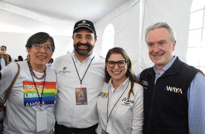 Anaya y Barrales llenan Reforma y sus alrededores: Magui Fisher