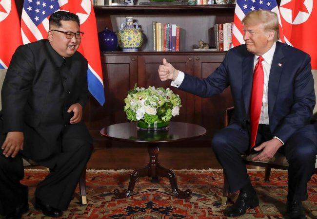 Trump asegura que desnuclearización de Corea del Norte será inmediata