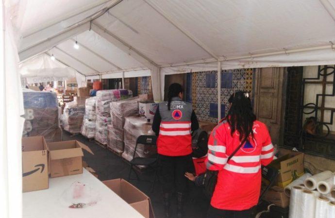 Recauda casi 3 toneladas de ayuda Centro de Acopio para Guatemala