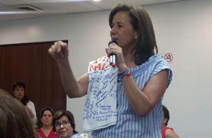 Votaré por Ricardo Anaya, afirma Margarita Zavala en Culiacán