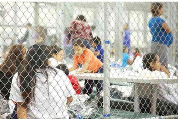 Tibia respuesta del gobierno mexicano por el encierro de niños migrantes en jaulas: Marko Cortés