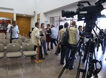 Comienzan a llegar a México observadores de la OEA para elecciones