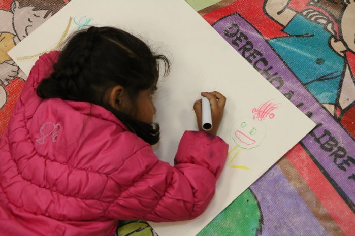 Infantes aprenden con actividades lúdicas a prevenir el trabajo infantil