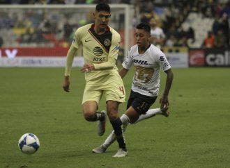 América y Pumas sacan empate en el Azteca