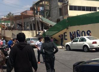Demolición del Rébsamen no afectará investigaciones: Amieva