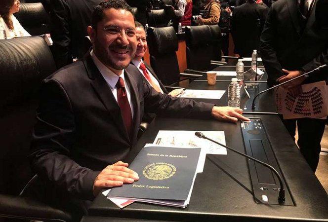 Eligen al senador Martí Batres Guadarrama, presidente de la Mesa Directiva del Senado