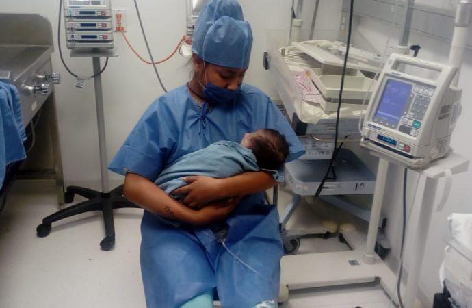 La SEDESA CDMX realiza con éxito cirugía a bebé con esófago incompleto