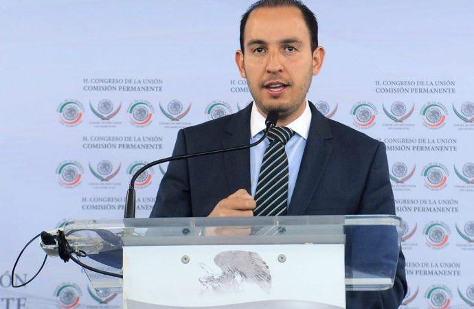 Aspiro a ser el candidato de los militantes del PAN: Marko Cortés