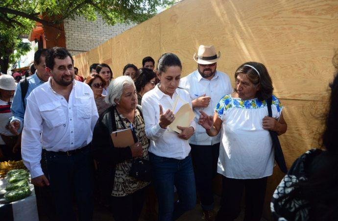 El Gobierno de la CDMX abandonó a los damnificados del 19S