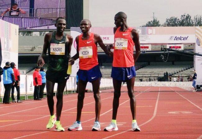 Kenia se apodera de Maratón Ciudad de México 2018