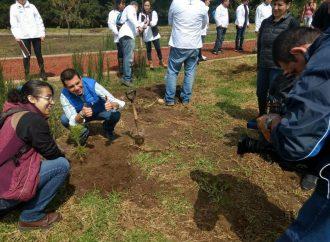 Celebra Laboratorios Liomont octava campaña de reforestación