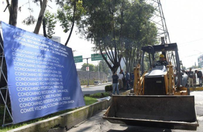 Inician trabajos de construcción de área verde en San Jerónimo