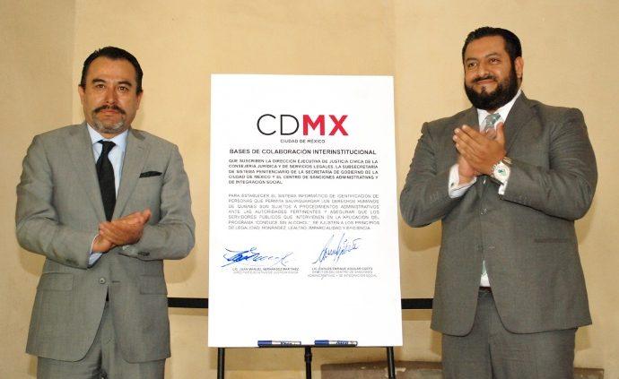 """Signan convenio para garantizar derechos humanos de remitidos a """"El Torito"""""""