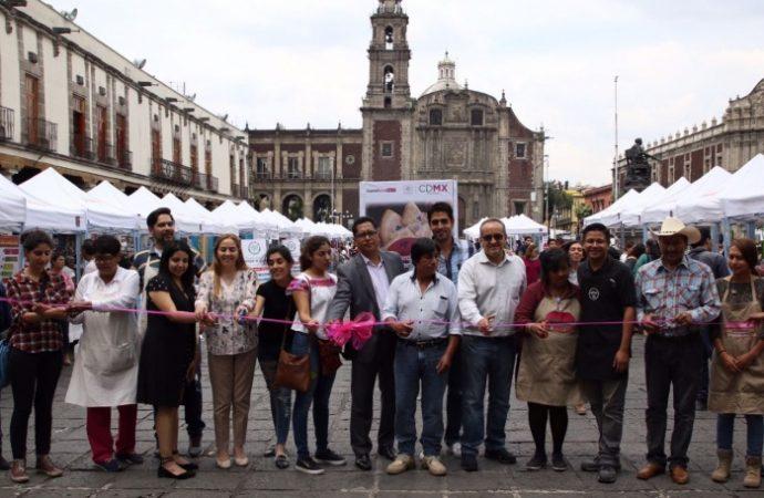 Inauguran Feria de Mercados sustentables de CDMX