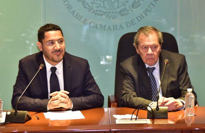 Trabajaremos en parlamento abierto, transparente y con visión bicameral, aseguran Porfirio Muñoz Ledo y Martí Batres