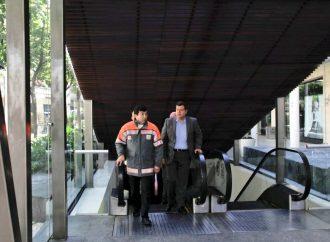 Supervisa Amieva medidas de seguridad en plaza comercial de Polanco