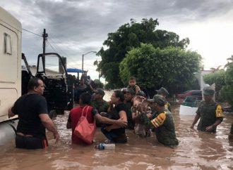Evalúan daños dejados por lluvias en Sinaloa