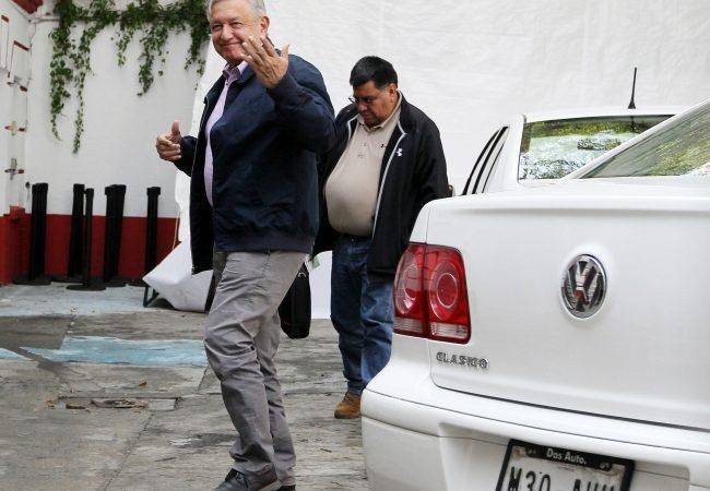 López Obrador se reúne con gobernador electo de Tabasco