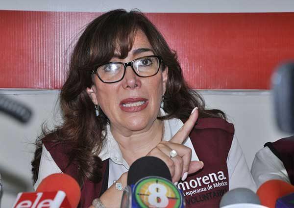 Condena Yeidckol Polevnsky la violencia en la UNAM