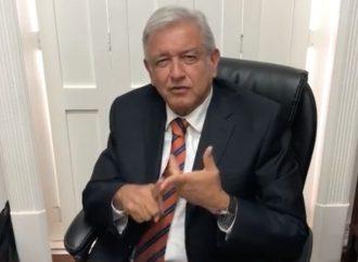 AMLO ofrece garantías en consulta