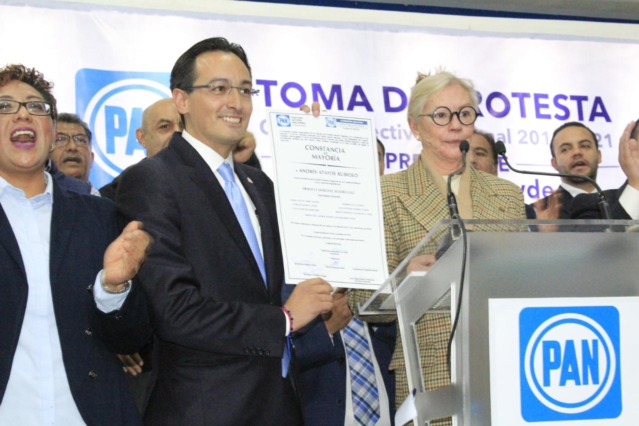 PAN CDMX pondrá alto a Morena y será oposición dialogante y crítica: Andrés Atayde