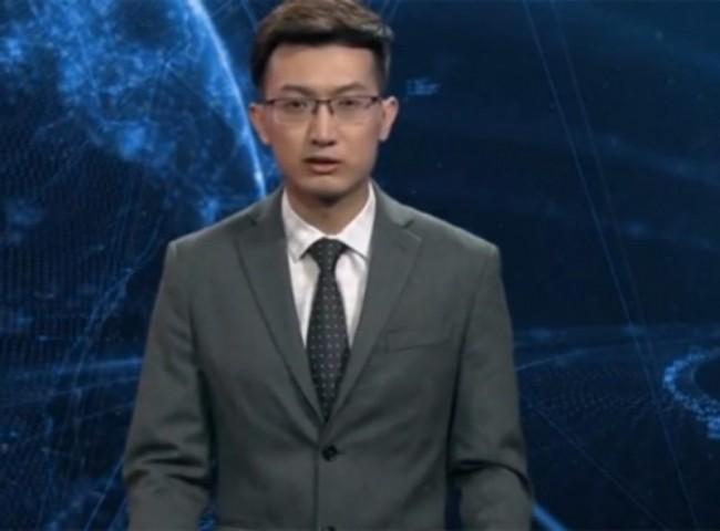 Presentan al primer conductor de noticias de inteligencia artificial debuta en China