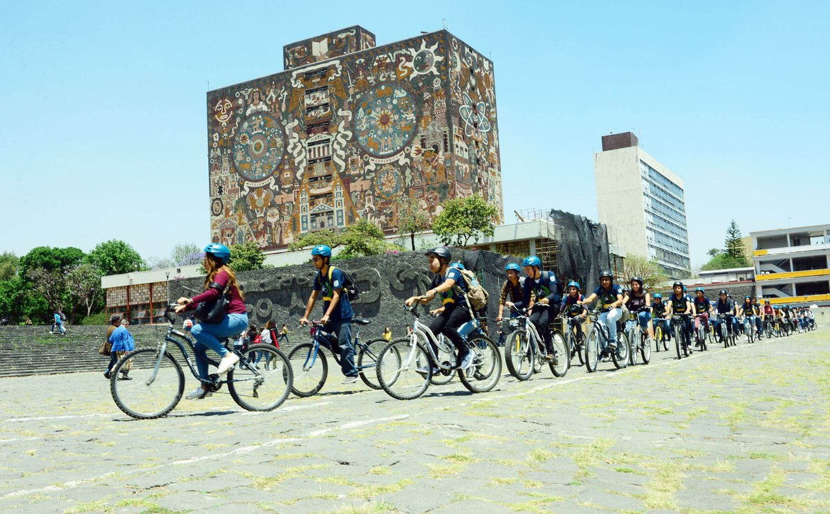 UNAM desarrolla plan de movilidad ciclista para la Ciudad de México