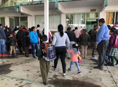 Sin clases en todas las escuelas de Hidalgo por mal clima