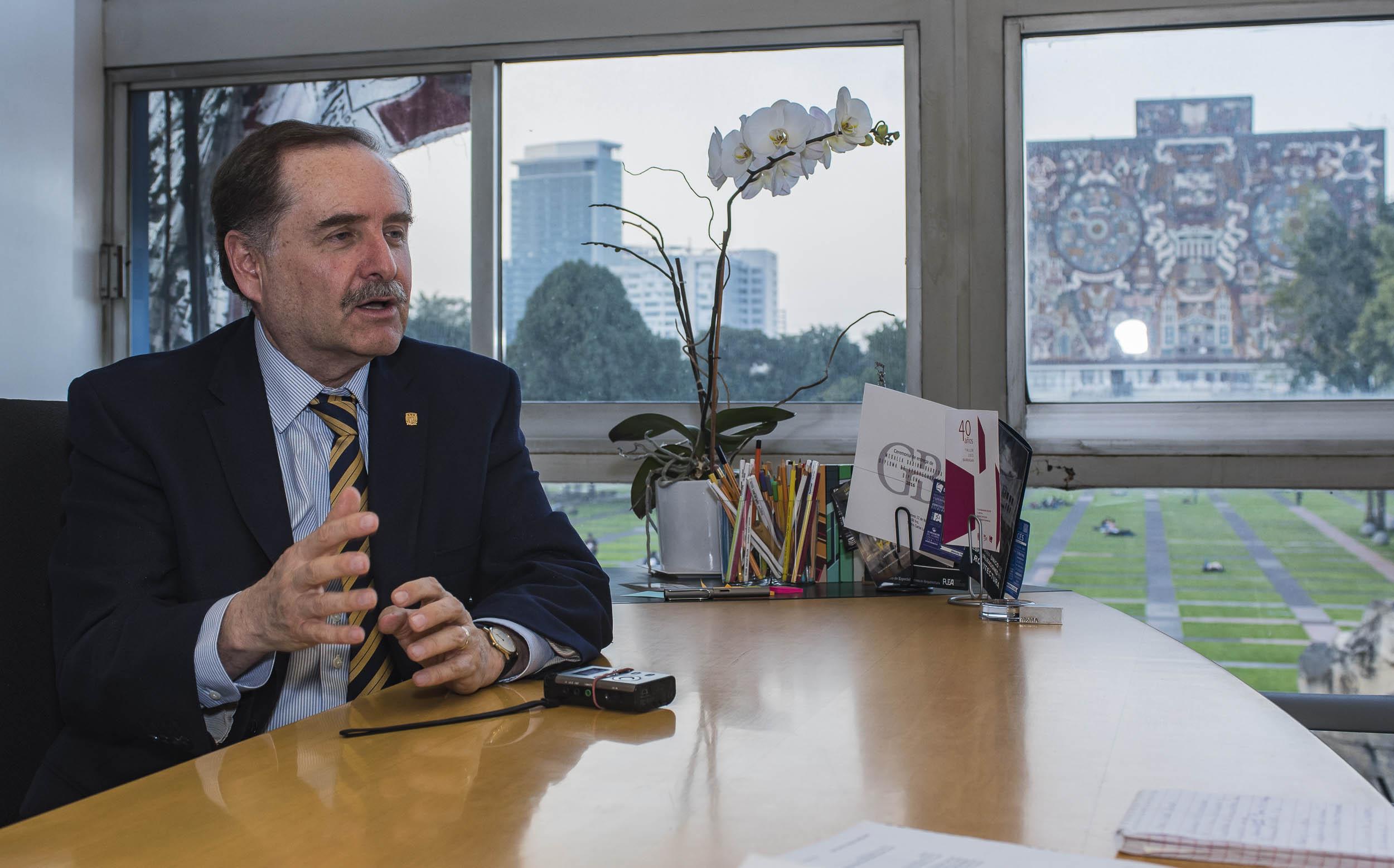 Designan a Marcos Mazari, Presidente de la Unión De Escuelas y Facultades de Arquitectura de Latinoamérica