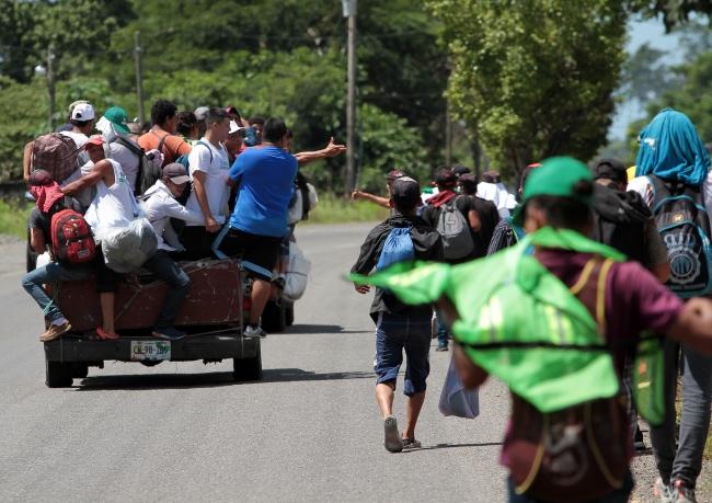 Más de 3 mil migrantes centroamericanos han solicitado refugio en México