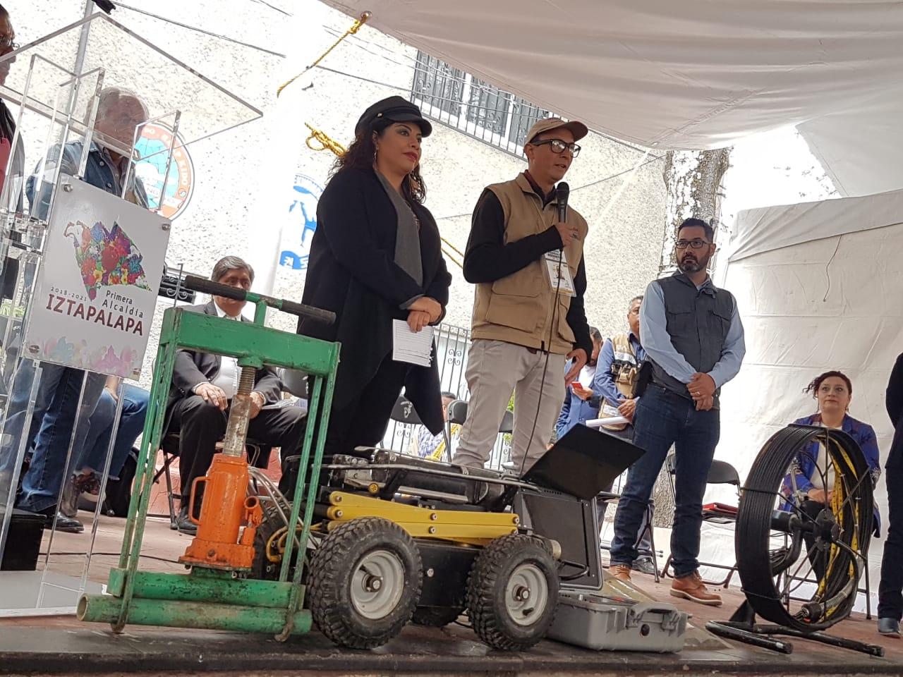 Iztapalapa instala el primer módulo de atención a familias daminificadas por el sismo 19s y de reconstrucción