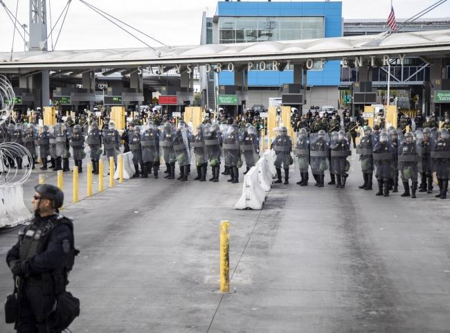 Cierran nuevamente Garita de San Ysidro-Tijuana