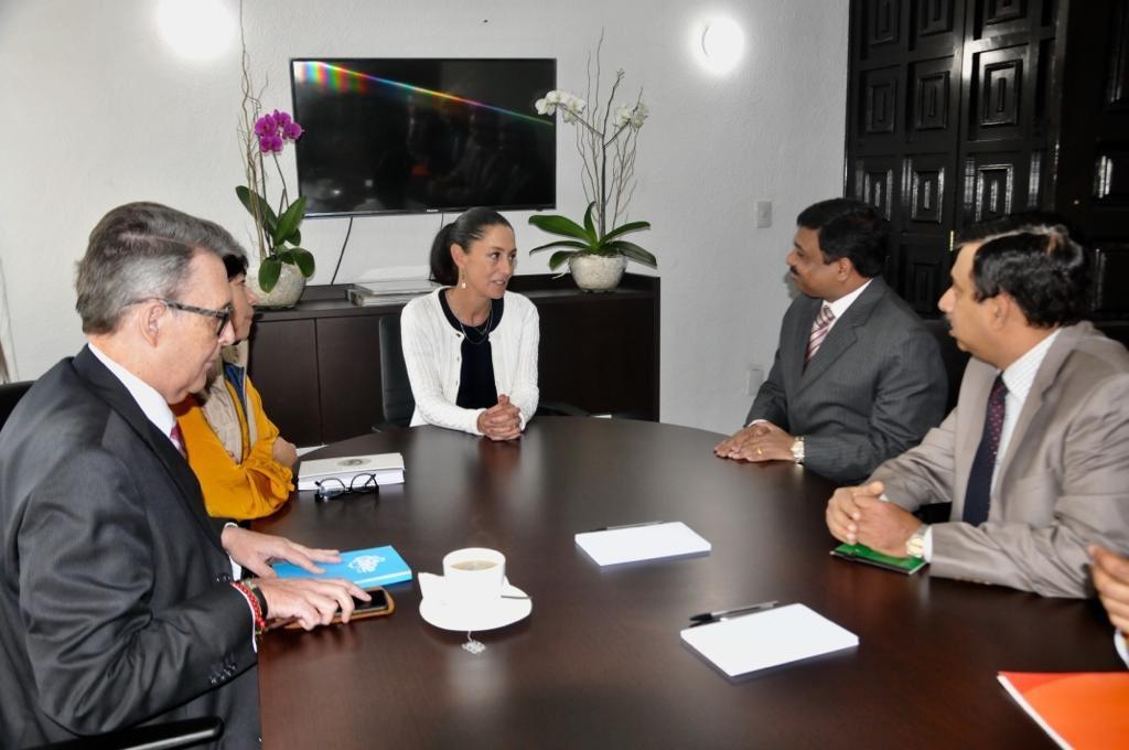 Acuerda Sheinbaum colaboración multidisciplinaria con la India