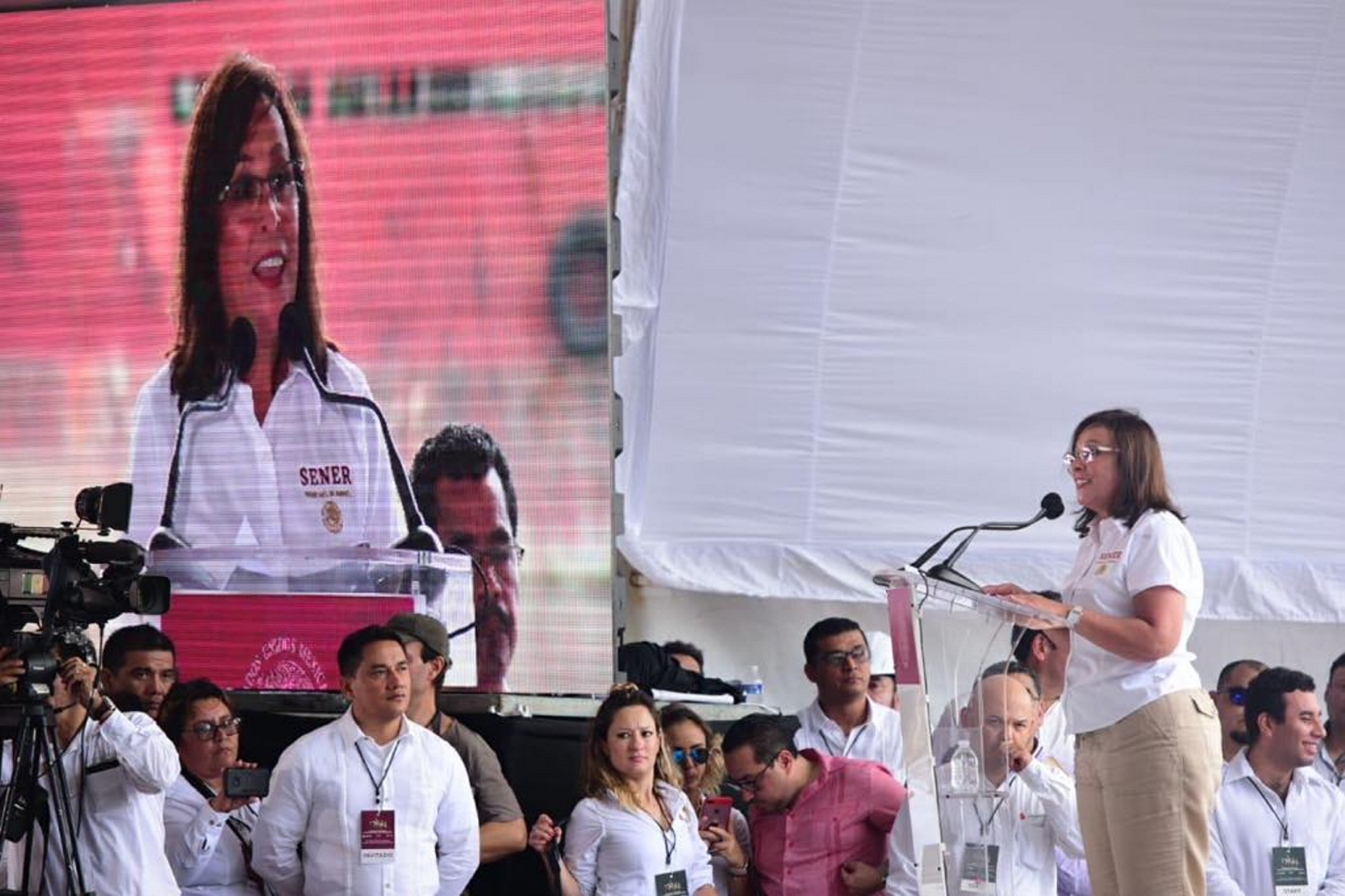 Nueva refinería generará empleos y beneficios económicos y sociales: Rocío Nahle