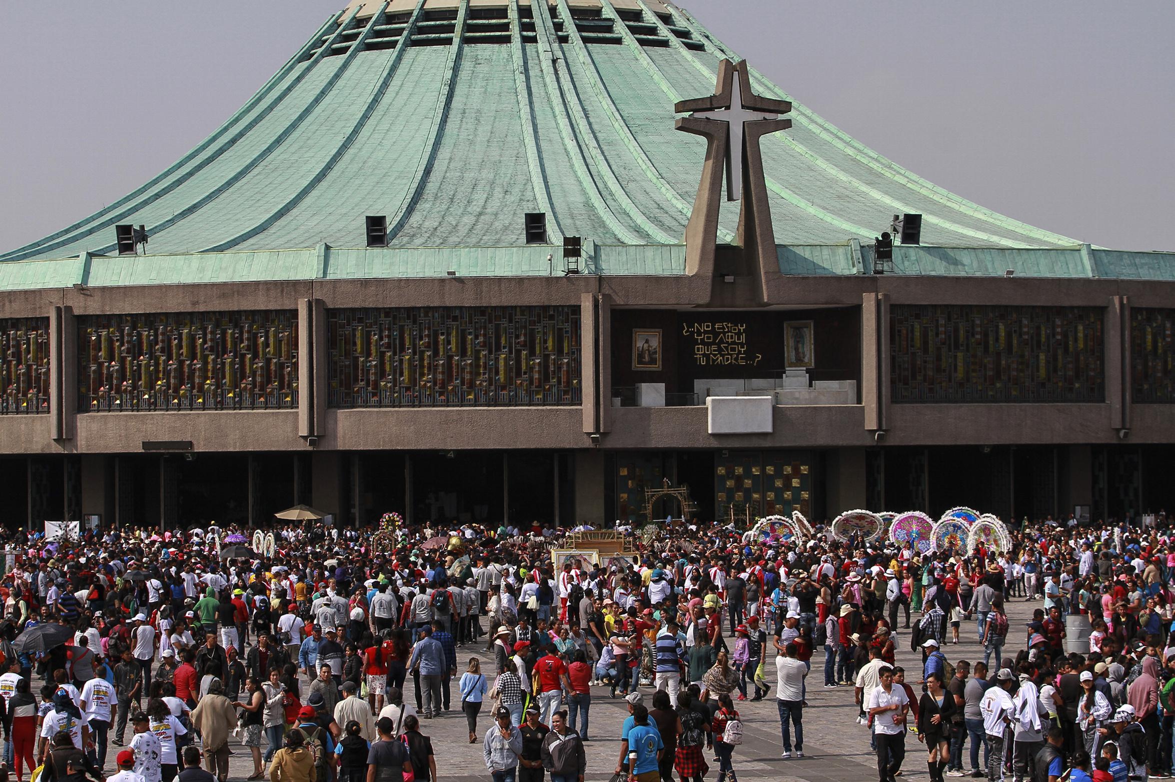 Agentes federales cuidarán a peregrinos en la basílica de Guadalupe
