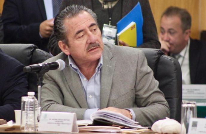 PRD no avalará Paquete Presupuestal Fast Track de Morena: Antonio Ortega