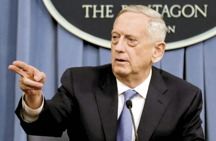 Secretario de defensa le renuncia a Trump tras repliegue en Siria