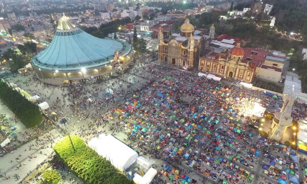 Saldo blanco en la llegada de más de 10 millones de peregrinos a la Basílica de Guadalupe