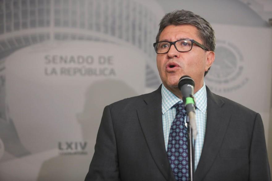 Trabaja Senado para no fallarle a los mexicanos, asegura Monreal