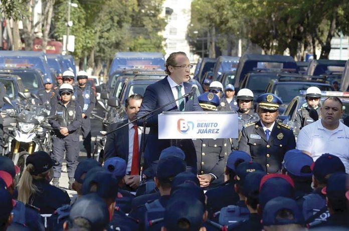 """Aplicarán """"blindaje"""" en la alcaldía Benito Juárez"""