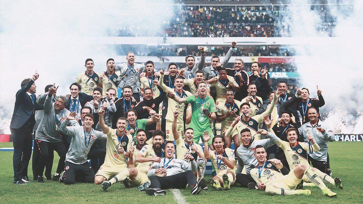 ¡América Campeón! Con 13 títulos es el equipo más ganador de fútbol mexicano