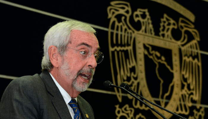 """Hay """"gran satisfacción"""" que el presidente López Obrador haya reconocido un error al asignar presupuesto: Graue Wiechers"""