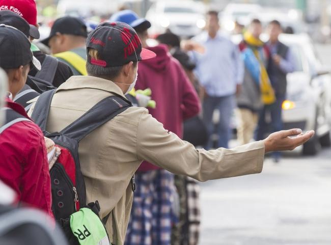 Derechos Humanos presenta informe sobre situación de caravana migrante