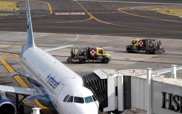 Desabasto de combustible pega a los aeropuertos del país