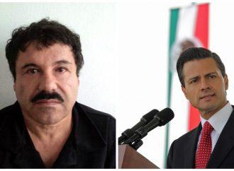 """Pide PRD que gobierno federal investigue al ex presidente Peña Nieto por presuntamente recibir sobornos del """"El Chapo"""" Guzmán"""