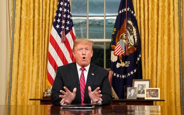 Desesperado por su muro, Trump apela otra vez al miedo a migrantes